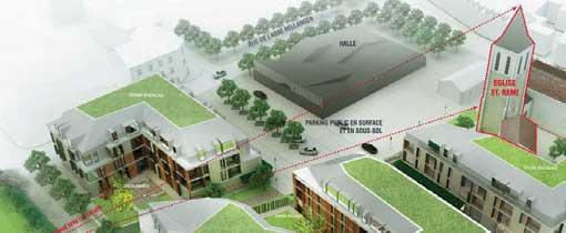 Draveil Plan Zac Centre Ville